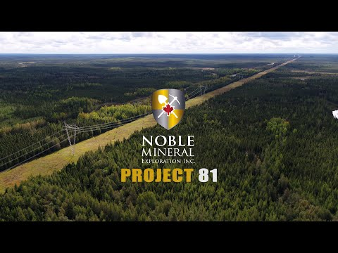 Noble Mineral Exploration: Project 81