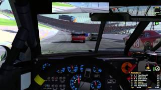 iRacing : That Seems Incredibly Dangerous. (Nationwide @ Chicagoland)