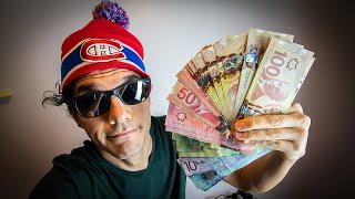 $2.400 al MES es Suficiente? Salario MÍNIMO en Canadá!!