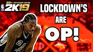 Defense In NBA 2k19 Is So OP! The Year of Lockdowns In NBA 2k19! 2k19 First Impression!