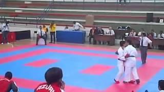 . Kumite 68 Kg IV JJNN Juveniles Karate Do Guayas vs Azuay