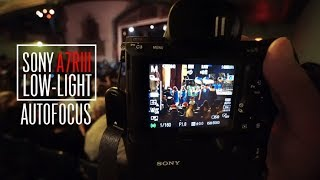 Is the Sony alpha a7RIII Autofocus in Low-Light better than the Son...