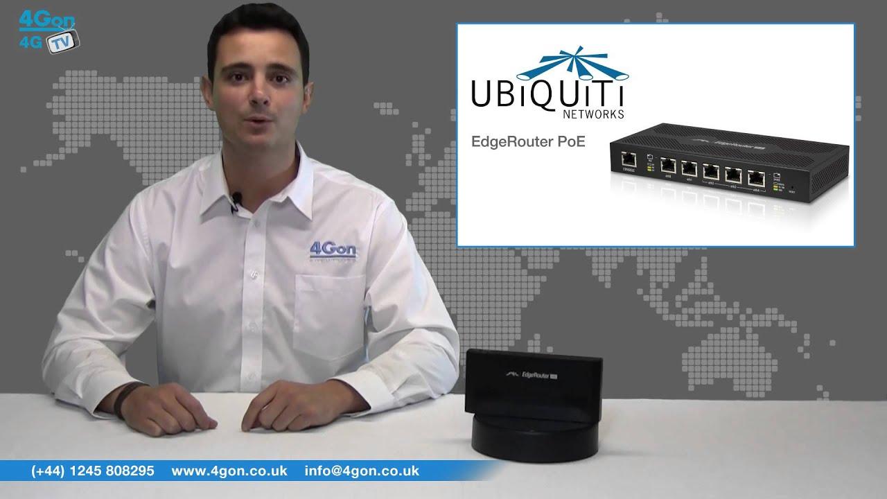 Ubiquiti ERLite-3 EdgeRouter Lite 3 Gigabit Ports