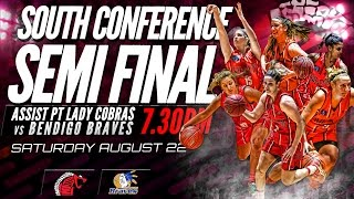 SEABL Finals - Assist PT Lady Cobras vs Bendigo Braves