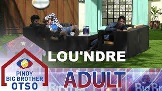 PBB OTSO Day 43: Yamyam, naisip ang couple name nina Andre at Lou