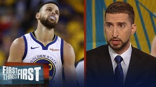 Warriors' dynasty is on the line tonight in Game 4 - Nick Wright | NBA | FIRST THINGS FIRST
