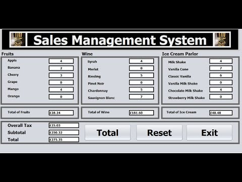 How to Create an Object-Oriented Sale Management System in Java NetBeans-Full Tutorial