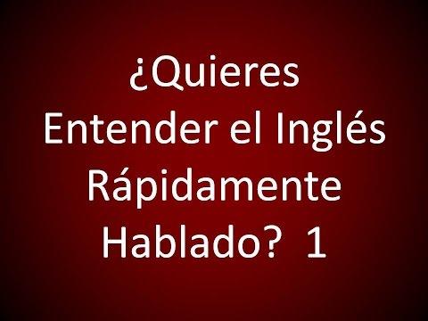 Inglés Americano - Aprende el Inglés Rápidamente Hablado 1 (Lección 356)