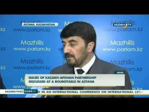Issues of Kazakh-Afghan partnership discussed at a roundtable in Astana