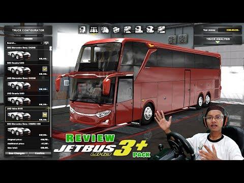 Review Jetbus 3+ Pack Paling Lengkap By Hamdan Rahmatullah $ || Ets2 Mod Bus Indonesia