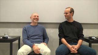 """2015.11.19-Zb """"MEGASUPERMARKET"""" Gespräche mit Siddhartha in Salzburg"""