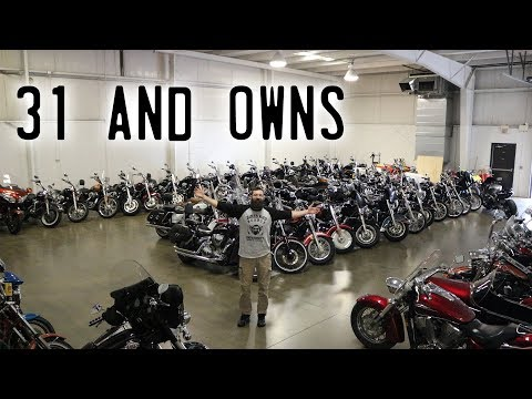31 Year Old Has $1 Million Dollar Motorcycle Collection