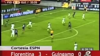 Video Gol Pertandingan Fiorentina vs Guingamp