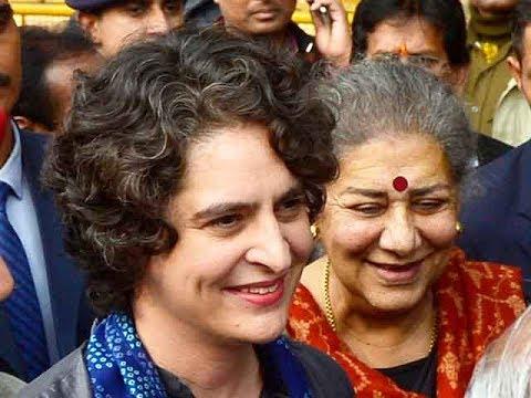 Priyanka Gandhi Vadra formally enters politics; appointed as UP East Congress general secretary