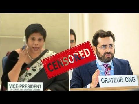 CENSORED: UNHRC Cuts Off Hillel Neuer For Naming Regimes In Anti-Israeli Debate