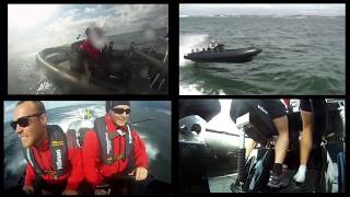 GoPro hero 4 High Speed Boat Multi Motion Analysis of Suspension Seats