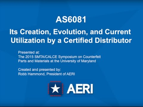 AS6081 Counterfeit Electronic Component Testing