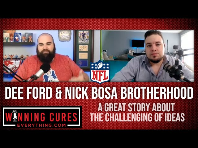 Dee Ford and Nick Bosa brotherhood despite different backgrounds
