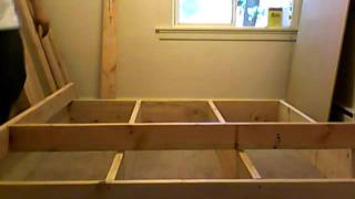 Building Platform Bed Frame Part 3 Of 10