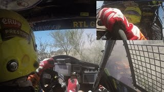 Hitting trees and surfing a valley, long onboard Tim Coronel Dakar 2016 stage 9