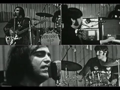 EXTREMELY RARE  Demis Roussos in 'Aphrodite's Child'   Live in Lille, 1968
