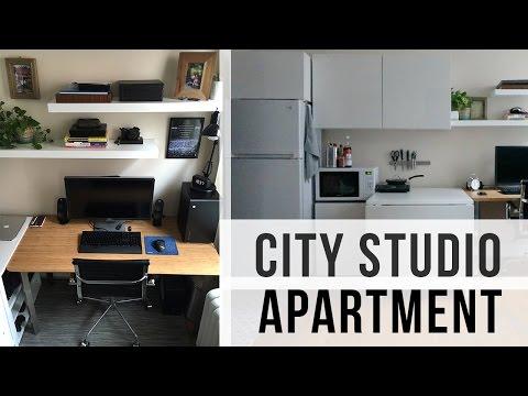 City Studio Apartment Tour (240 sq. feet – $500 rent)