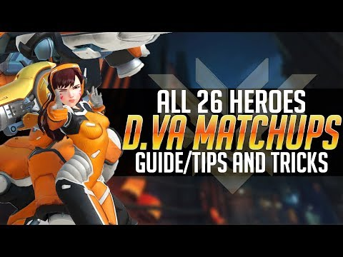 COMPLETE D.Va Matchup guide! How to play D.Va VS EVERY HERO