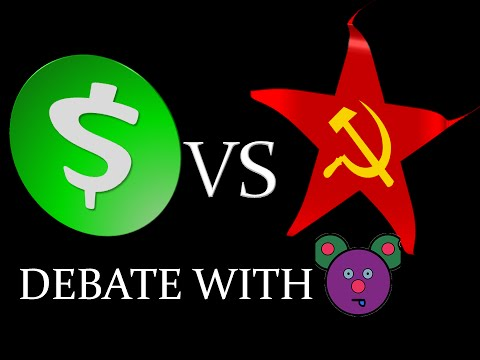 Capitalism vs Socialism discussion (with BadMouseProductions)