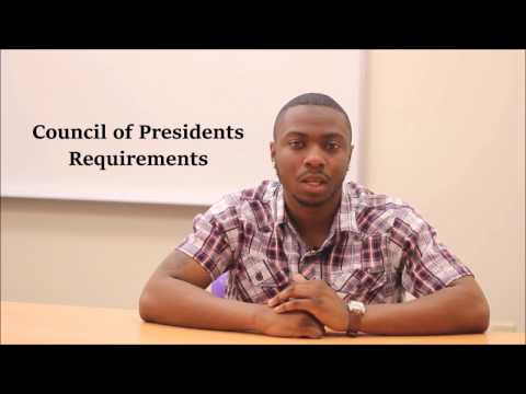 NC A&T State University Council of Presidents Requirements | Chris Bell