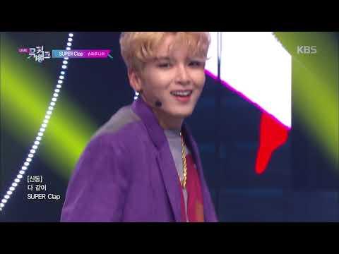 SUPER Clap - SUPER JUNIOR (슈퍼주니어) [뮤직뱅크 Music Bank] 20191025