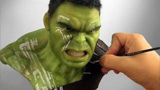 Hulk Sculpture Timelapse - Thor Ragnarok