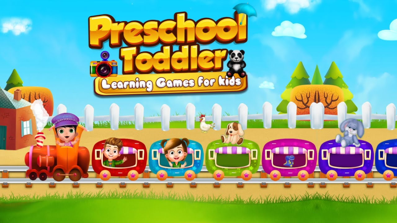 Toddler Preschool Learning Games For Kids iOS Android Gameplay
