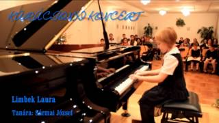 Limbek Laura zongorázik Tanára: Sármai József Thumbnail