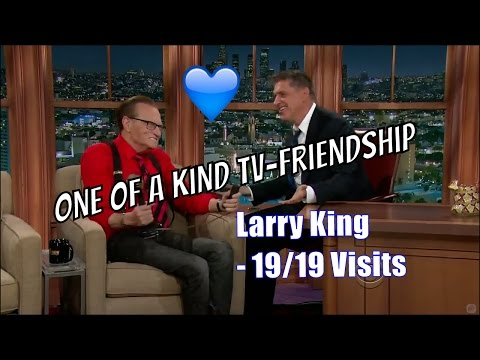 Larry King - Has Lots Of Great Stories - 19/19 Visits In Chron. Order [HQ]