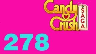 Candy Crush saga level 278 Livello 278