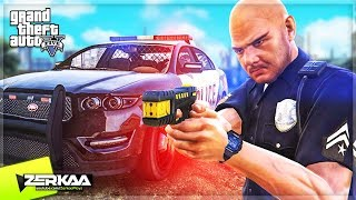 I Played GTA 5 as a POLICE OFFICER! (GTA 5)