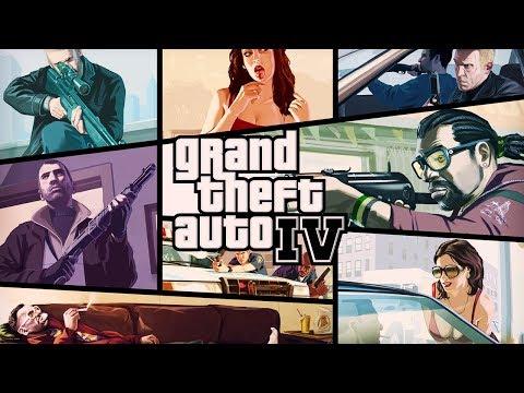 GRAND THEFT AUTO IV [GTA 4] All Cutscenes (Game Movie) 1080p HD