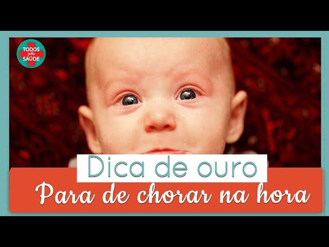 DICA DE OURO: Técnica que faz o bebê parar de chorar | INCRÍVEL 😍