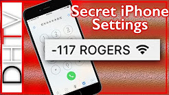 iPhone - Hidden Settings For Accurate Signal Strength Numbers - Field Test Mode