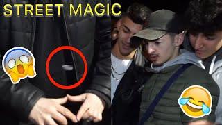Sein Ring schwebt!😳 STREET MAGIC IN HEILBRONN!