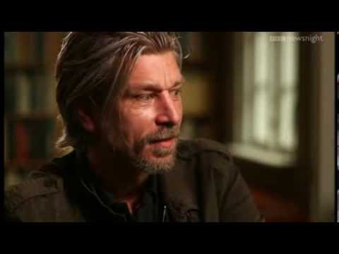 Exclusive interview with Karl Ove Knausgaard - Newsnight