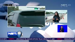 Peningkatan Kendaraan Tol Cikampek di Malah Hari - NET12