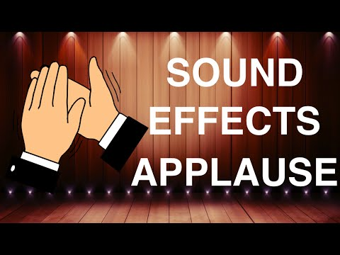 Clapping Sound Effects / Applause / Audience / Crowd Sound Effect