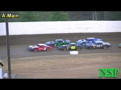 July 22, 2017 Street Stocks A-Main Grays Harbor Raceway