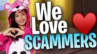 STUPID Scammer Compilation (Fortnite Save the World)