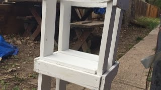 Build A Tall And Safe Kitchen Stool For A Child - DIY  - Guidecentral