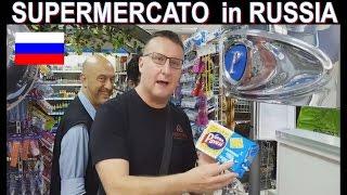 SUPERMERCATO in RUSSIA - di italiano c'è tutto e di più !!! TV basta disinformazione