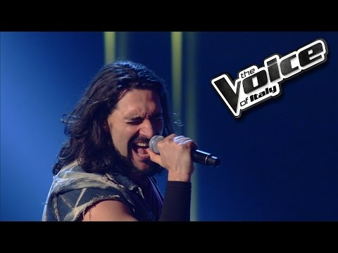 Ivan Giancarlo Giannini - Whola Lotta Love | The Voice Of Italy 2016: Blind Audition