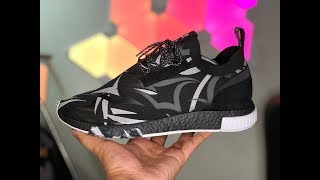 JUICE x adidas NMD RACER Alienegra Unboxing & Initial Review (aka the Bill Goldberg Shoe)