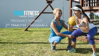 bekafitness pregnancy second trimester workout part a